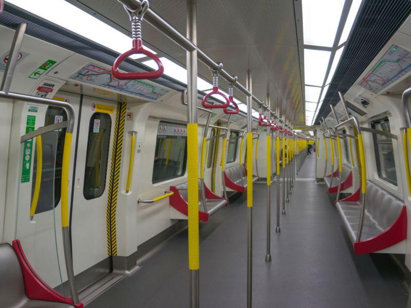 MTR train in Hong Kong Photo: iStock