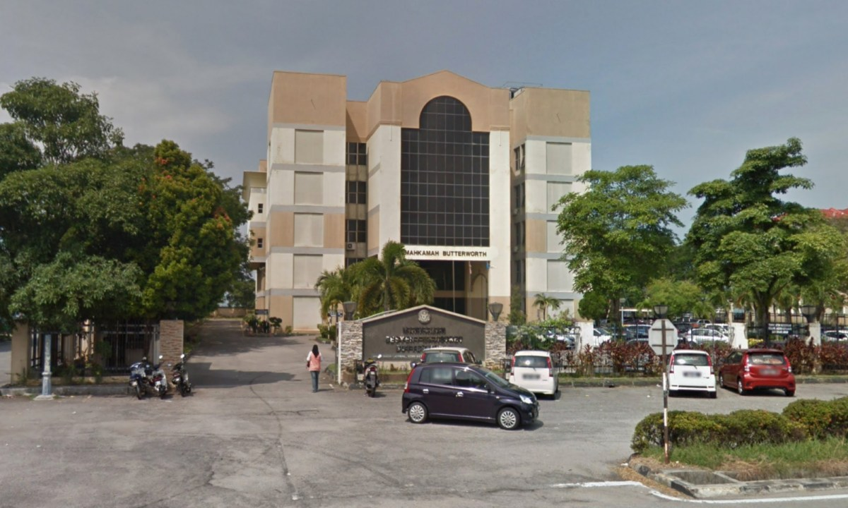 Butterworth magistrate's court in Penang, Malaysia. Photo: Google Maps