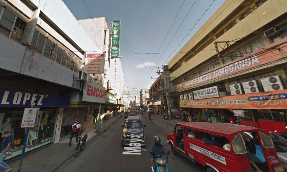 Mayor Climaco Avenue in Zamboanga City, Philippines. Photo: Google Maps