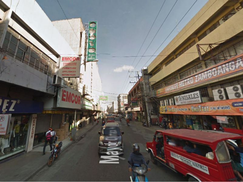 Mayor Climaco Avenue in Zamboanga City, Philippines. Photo: Google Maps