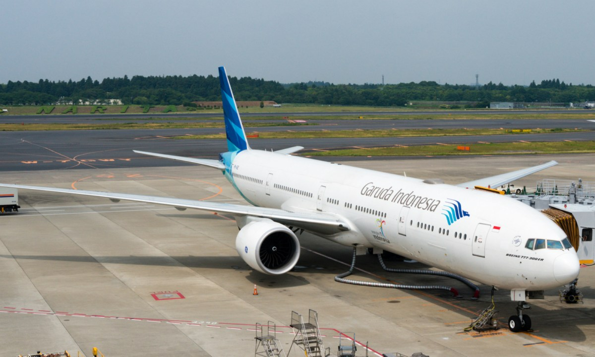 Garuda Airlines started their live inflight shows on Wednesday. Photo: iStock.