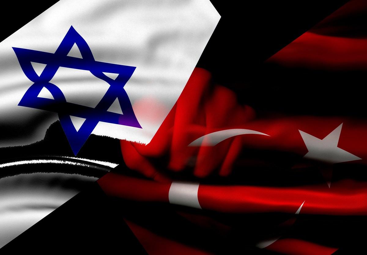 israel and Turkey flags. Image: iStock