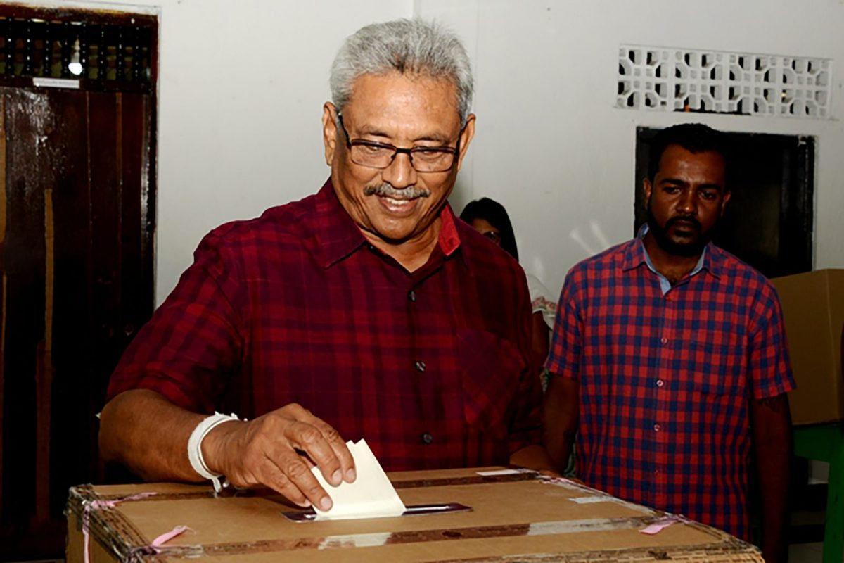 Rajapaksa Storms To Victory In Sri Lanka Election Asia Times