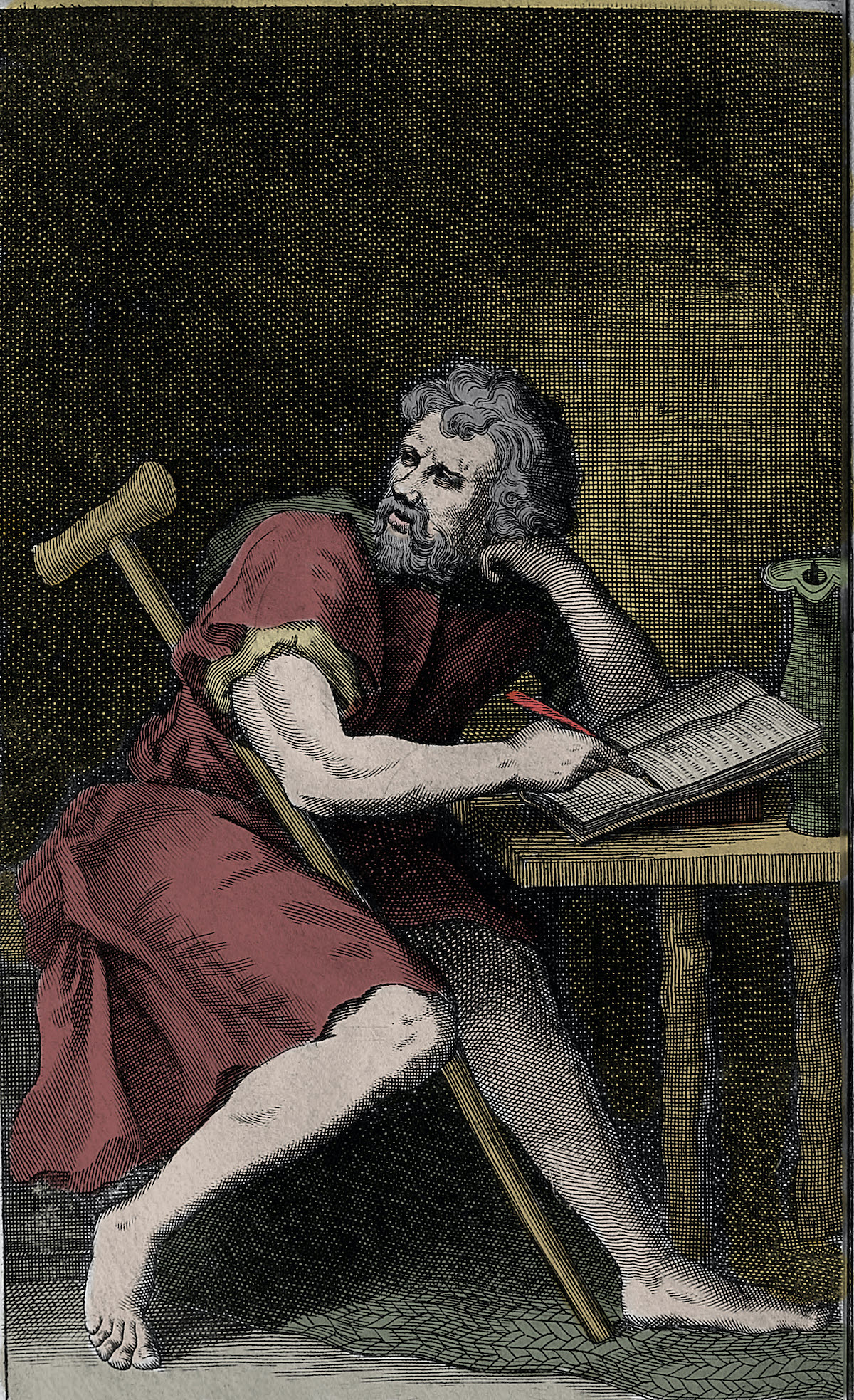 Epictetus the Greek Stoic philosopher. Photo: AFP / ©Costa/leemage