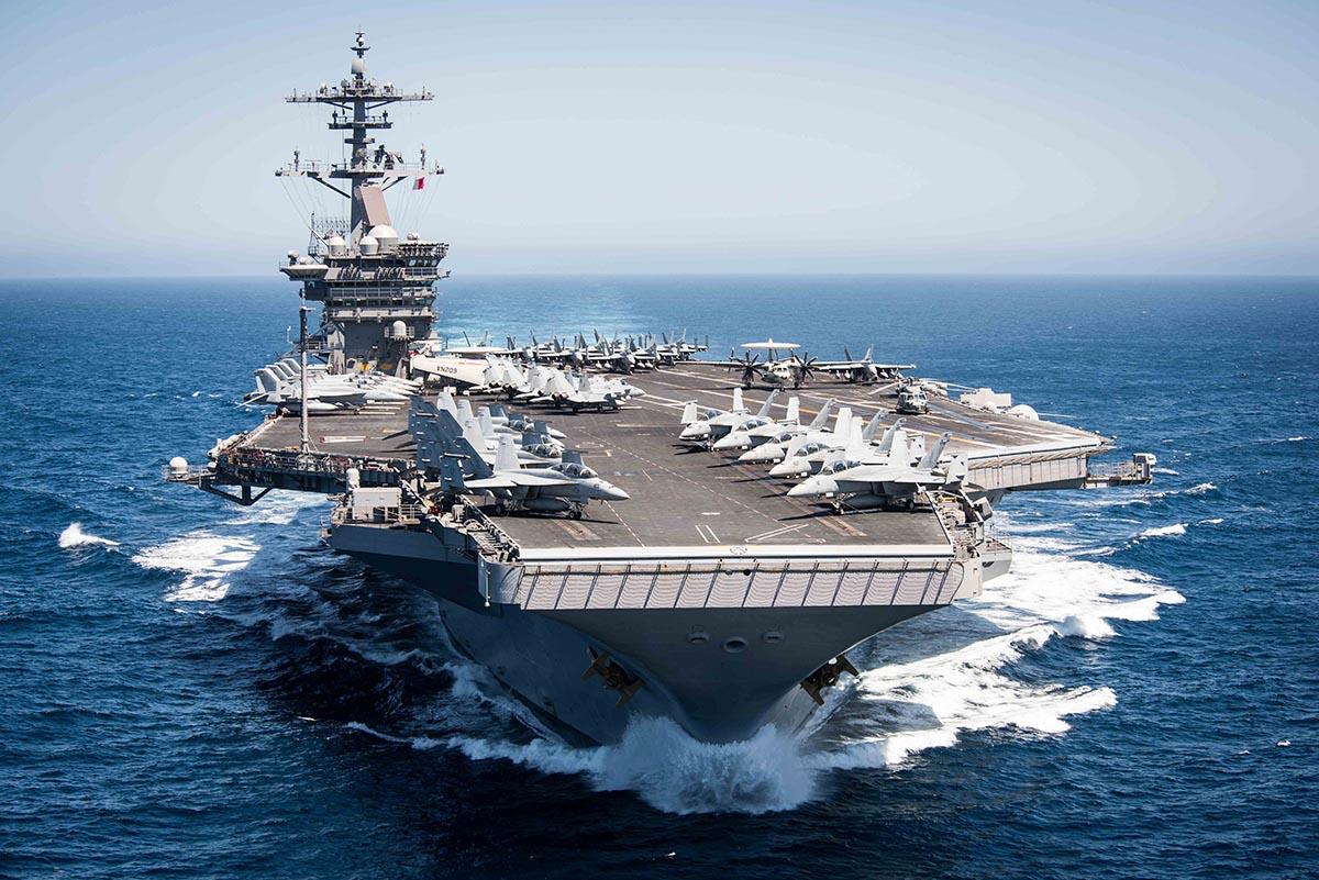 US aircraft carrier should never have been sent to Vietnam