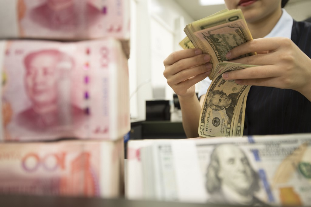 What keeps driving USD down and CNY well-supported?