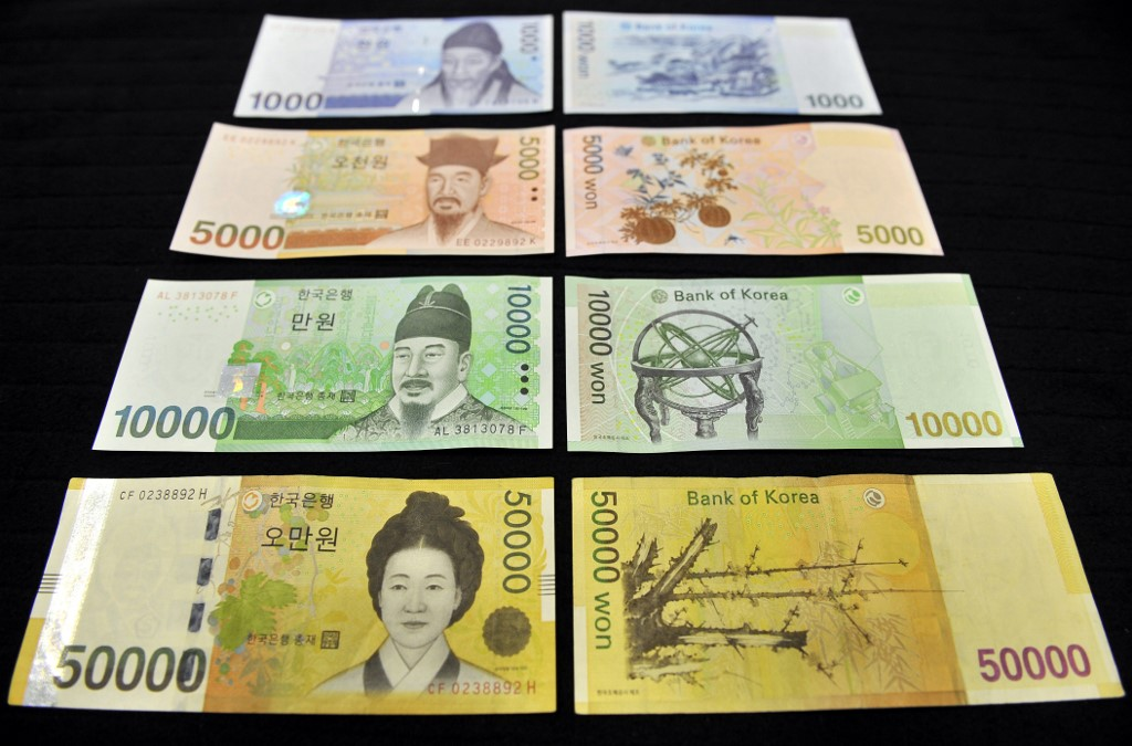 Chinese yuan and Korean won star, gold continues to shine