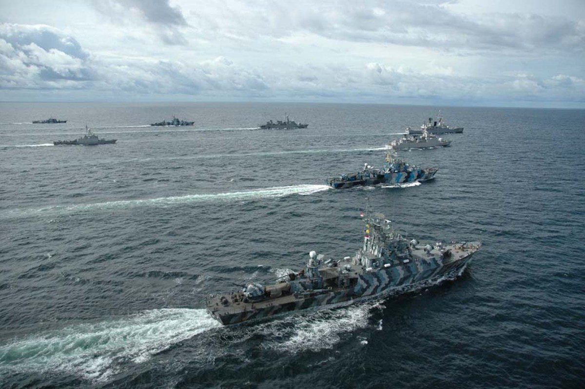 China, Indonesia on a collision course at sea