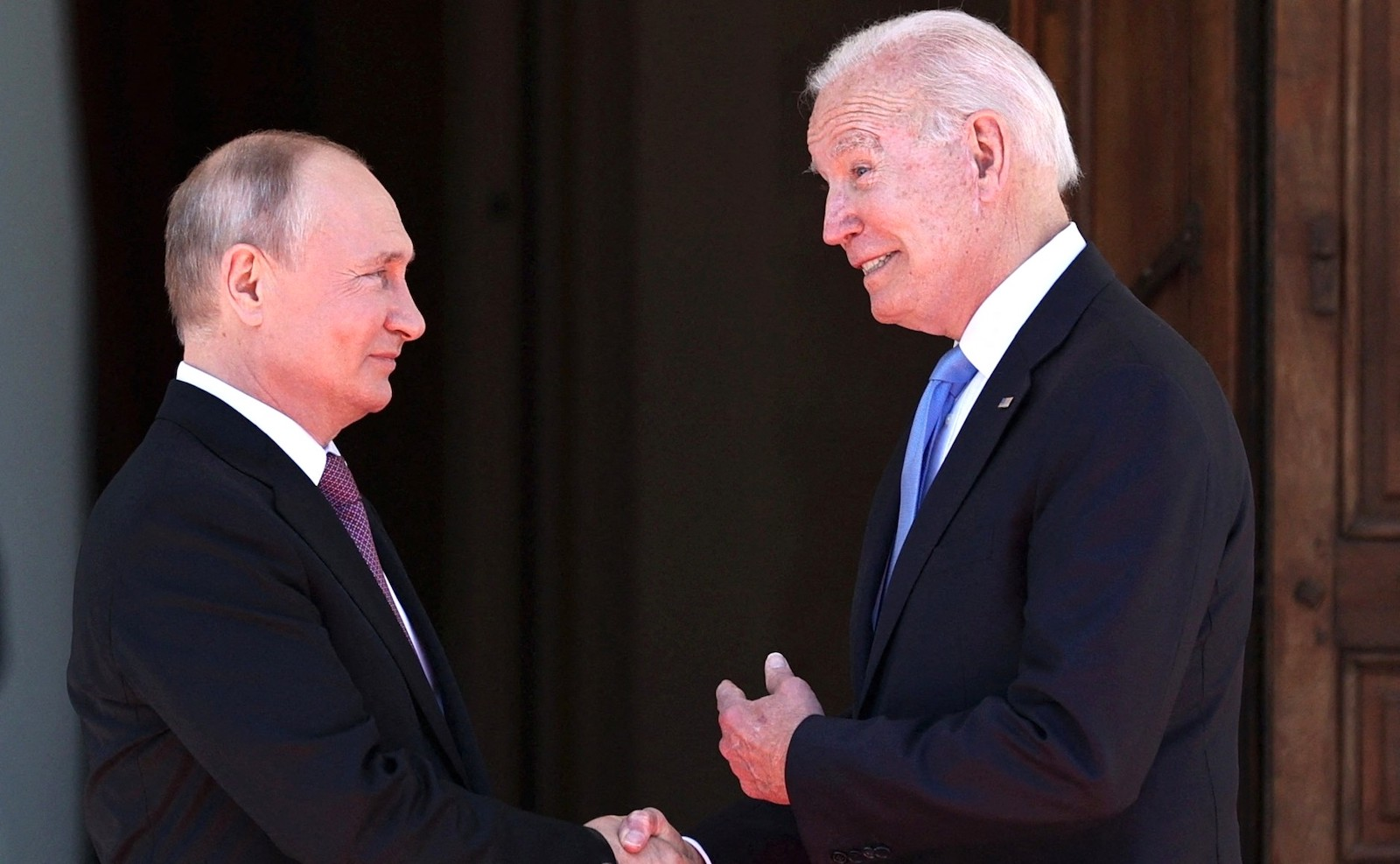 Russian President Vladimir Putin and US President Joe Biden hold their summit in Geneva at the first such meeting since 2018. Photo: AFP / EyePress News