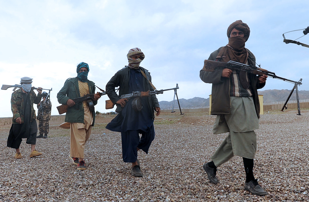 Taliban fighters have taken large swathes of Afghanistan in the past two weeks. Photo: AFP / Aref Karimi
