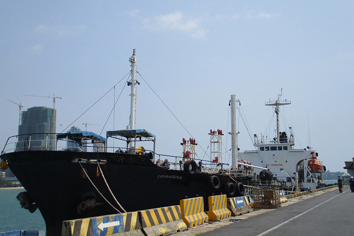 Singapore tanker seized over North Korea sanctions