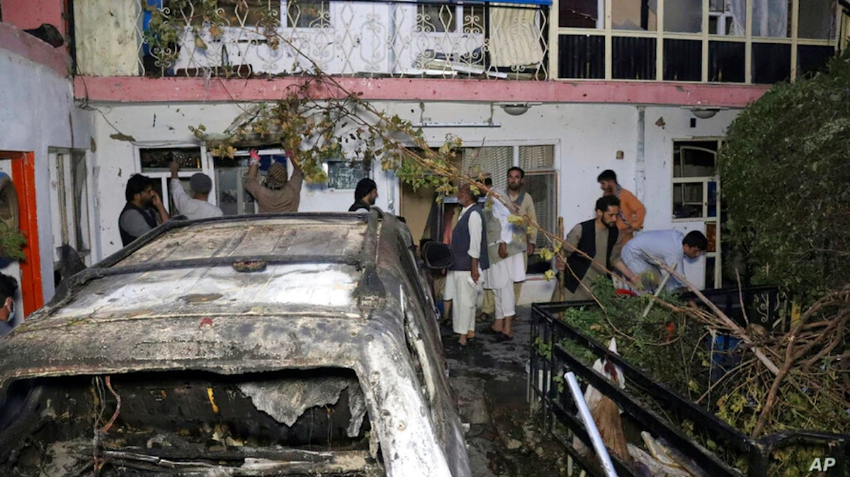 US Afghan strike's 'IS' target was aid worker: NYT