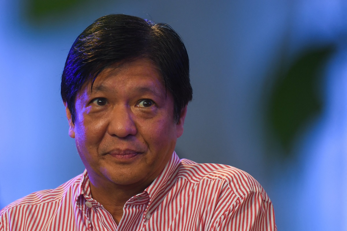 Marcos making a run for Philippine presidency