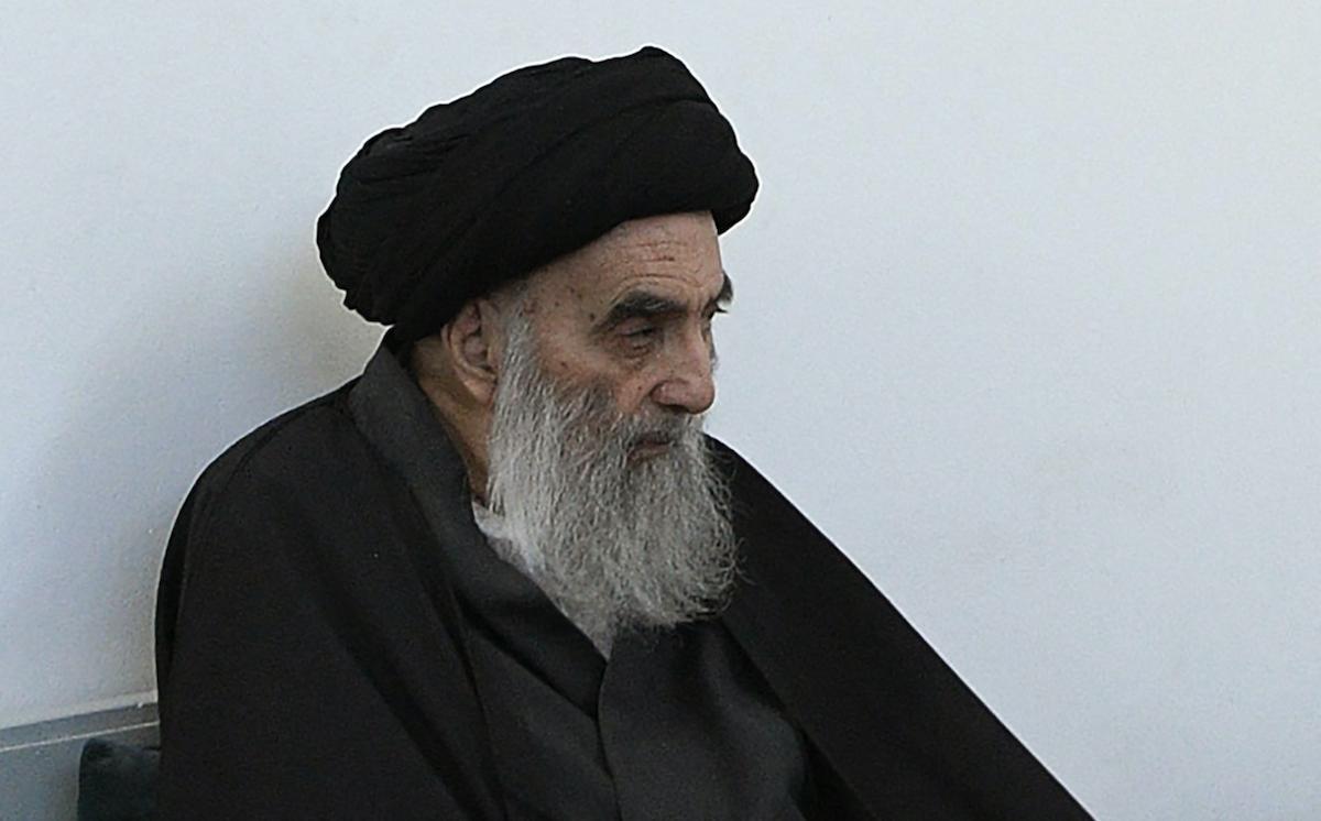 Top Shiite cleric Grand Ayatollah Ali al-Sistani. Photo: AFP