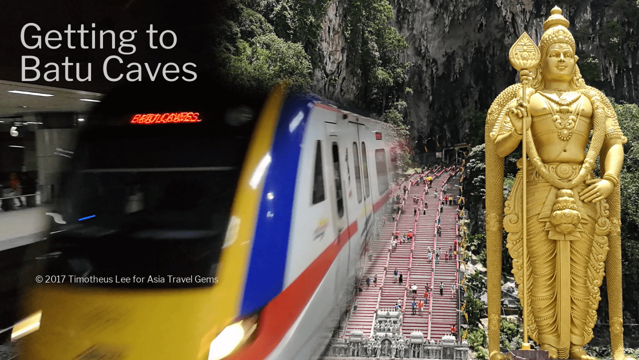 Best Places To Visit In Kuala Lumpur - Getting To Batu Caves via train