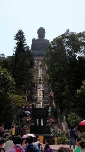 What To See In Hong Kong - 268 Steps to Tian Tan Buddha