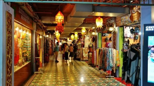 Things To Do In Kuala Lumpur - Central Market - Inside, row of stalls