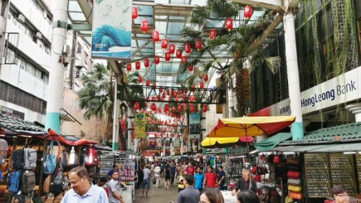 Things To Do In Kuala Lumpur - Petaling Street - Rows of stalls