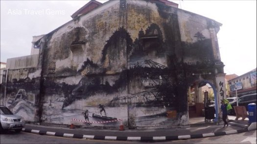 Things To Do In Ipoh - Mural Art depicting the old mining town of Ipoh