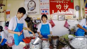 Penang Food - Assam Laksa at Air Itam Signage
