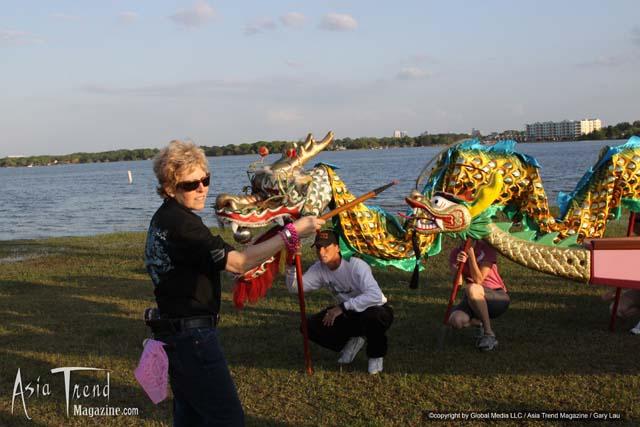 Orlando first Dragon Boat