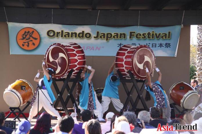 Matsuriza taiko performance