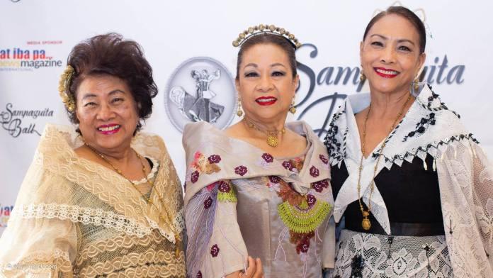 The Sibayans sisters - Liberty Sibayan-Galloway Bing Sibayan-Curioso and Jojo Sibayan-Lontok