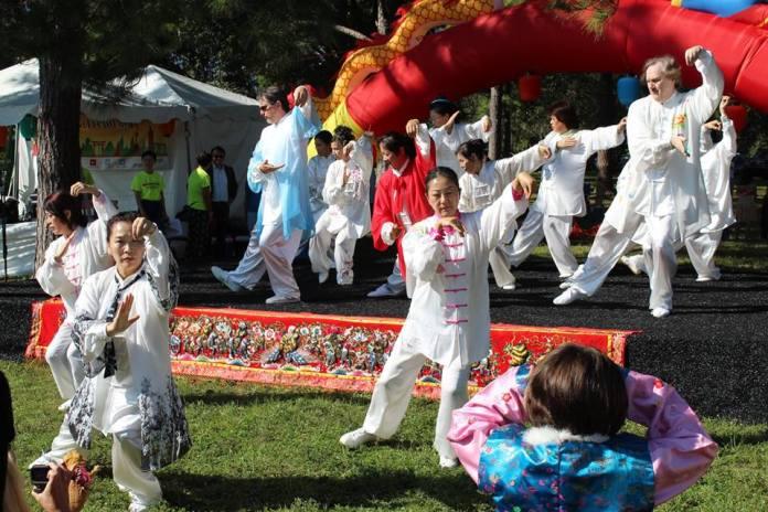 Taiji Demonstration by Orlando Han Qing Taiji Culture & Art Center