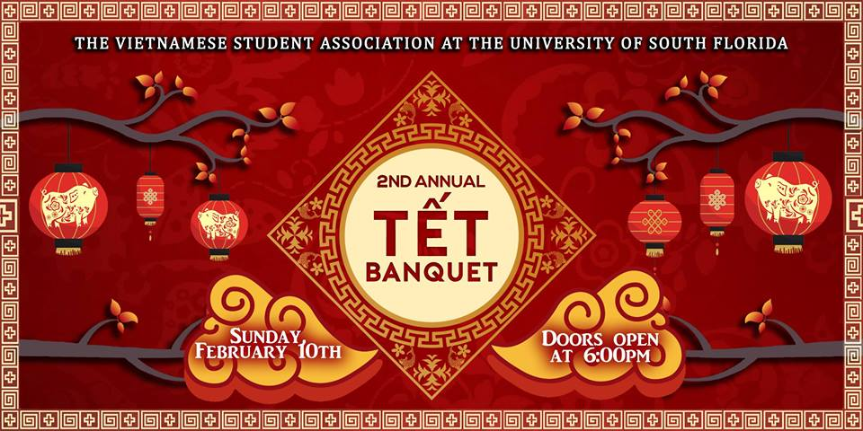 VSA at USF Presents: 2nd Annual Tết Banquet