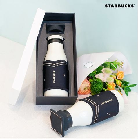 Starbucks Korea graduation tumbler