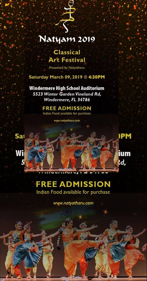 Natyam 2019 presented by Natyatharu USA