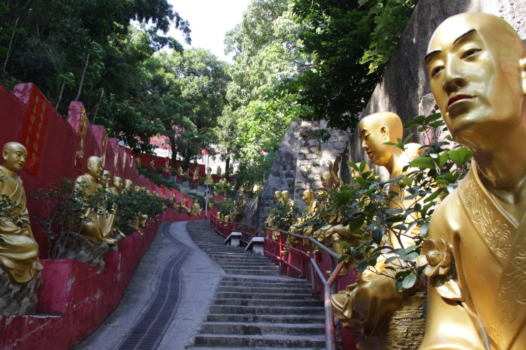 The Monastery of Ten Thousand Buddhas in Shatin