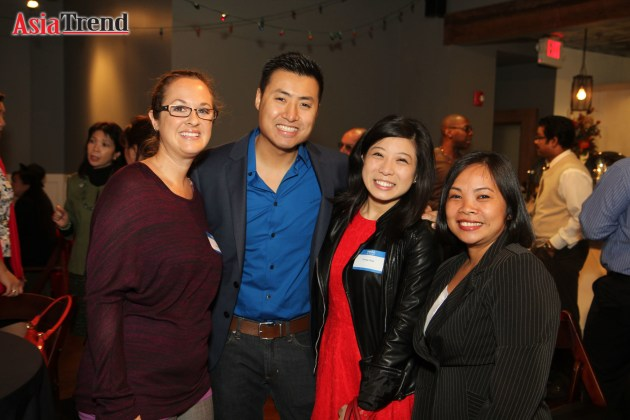 Alexis Daly, Robert Ly, Teresa Chan and Maria Badner