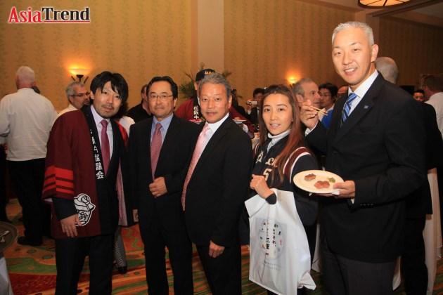 Mitsushige Yamanaka, Takashi Kikuchi - Rangetsu, Takemasa Ishikura, Teri Mitchell - SHOGUN Japanese Steak House, and Yasuhito Inomata