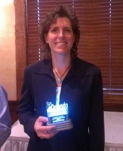 Best Private Improvement of the Year – Quantum Leap Winery & owners Jill Ramsier & David Forrester
