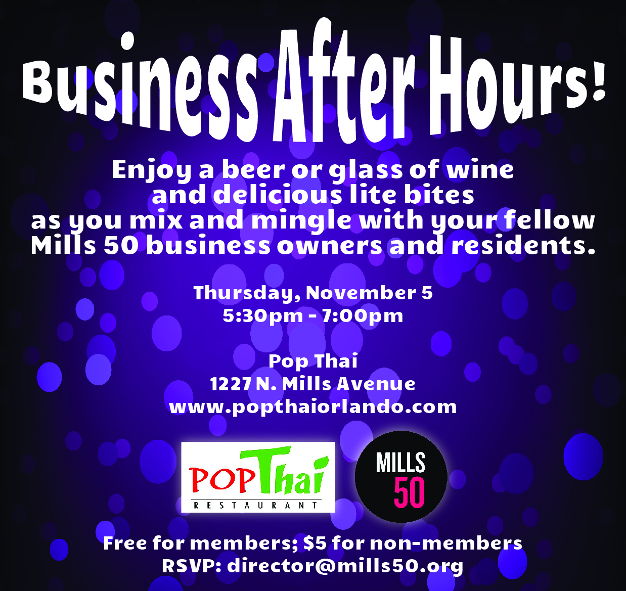 Mills 50 Business After Hours