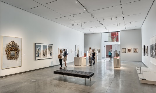 John and Mable Ringling Museum, Center for Asian Art in the Dr Helga Wall-Apelt Gallery of Asian Art, Location: Sarasota FL, Architect: Machado and Silvetti