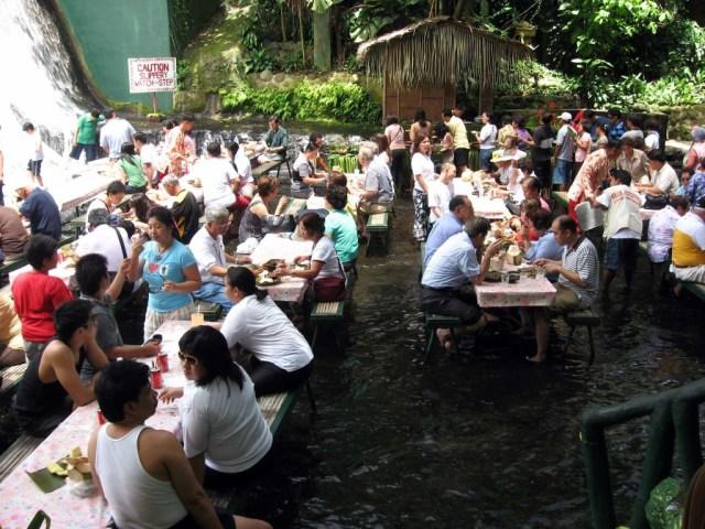 Villa Escudero Labasin Waterfalls Lunch