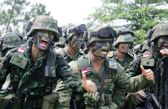 ASEAN Military Kits Up For Wider Challenges