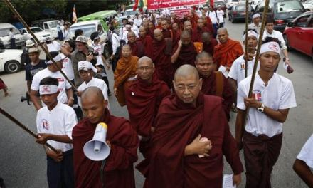 Stop the Racist Monks Before It's Too Late