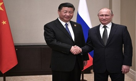CHINA AND RUSSIA FORGING NEW TYPE OF INTERNATIONAL TIES