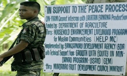 PEACE TALKS MUST FOCUS ON ENDING INSURGENCY