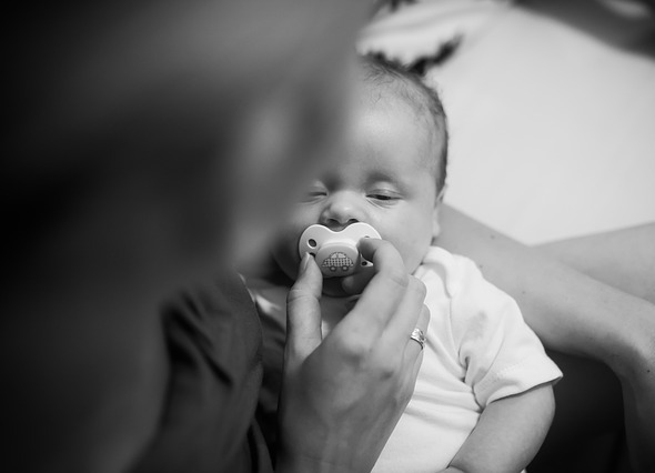 Baby use Pacifier