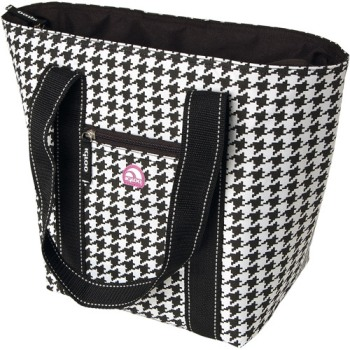 Igloo Cooler Tote 16 B-W Houndstooth