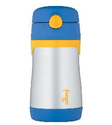 thermos foogo vacum insulated straw bottle