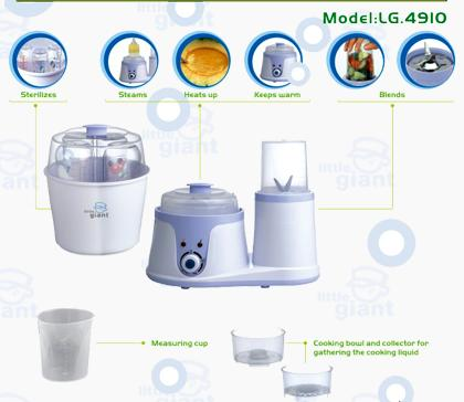 little giant sterilizer and food processor
