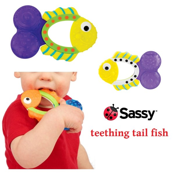 Sassy Teething Tail Fish