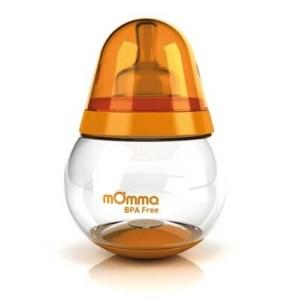momma rockin bottle orange