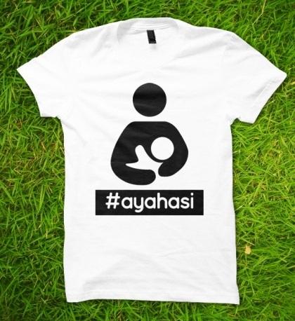kaos #ayahasi (depan)