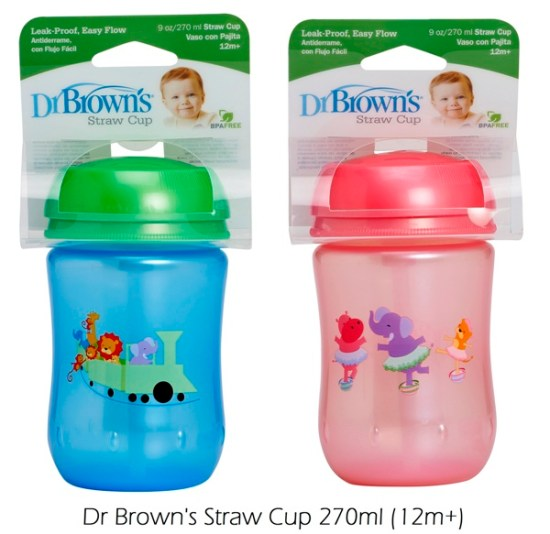 DrBrowns Straw Cup 270ml